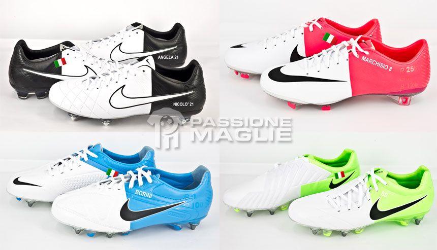 Scarpe Nike per Giovinco, Pirlo, Marchisio e Borini