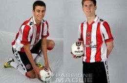 Prima divisa Sheffield United 2012-2013 Macron