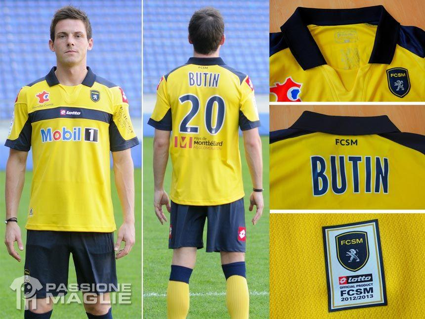 Sochaux maglia 2012-2013 Lotto