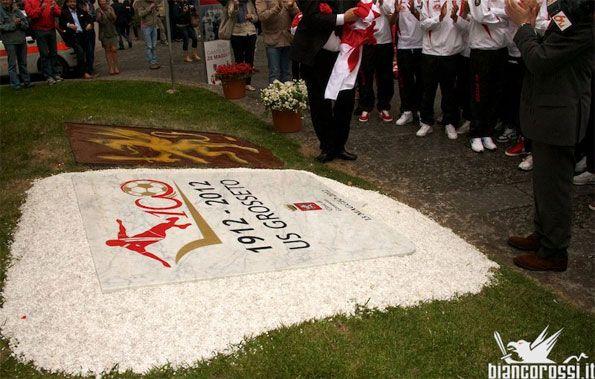 Targa celebrativa centenario Grosseto