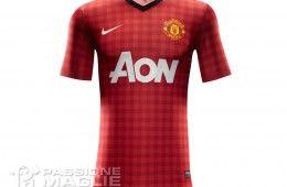 Manchester United prima maglia Nike 2012-2013