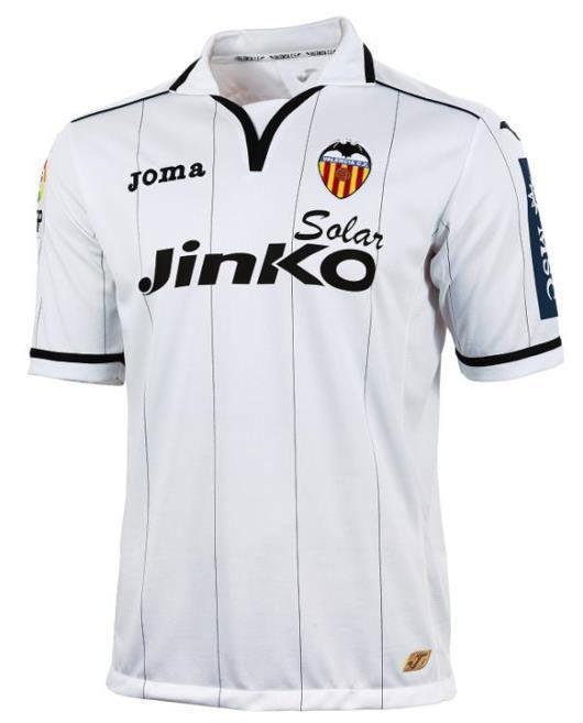 Valencia prima maglia Joma 2012-2013