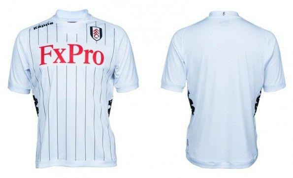 Maglia home Fulham 2012-2013