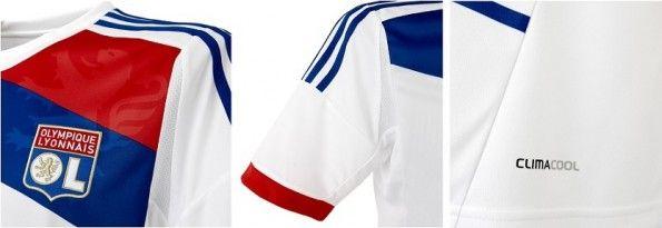 Dettagli della maglia Adidas del Lione 2012-2013