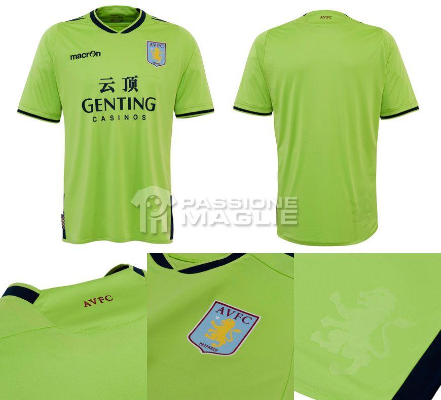 Seconda maglia Aston Villa 2012-2013