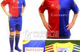 Basilea prima maglia adidas 2012-2013