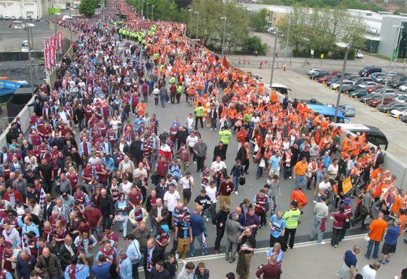Tifosi Blackpool-West Ham 2012