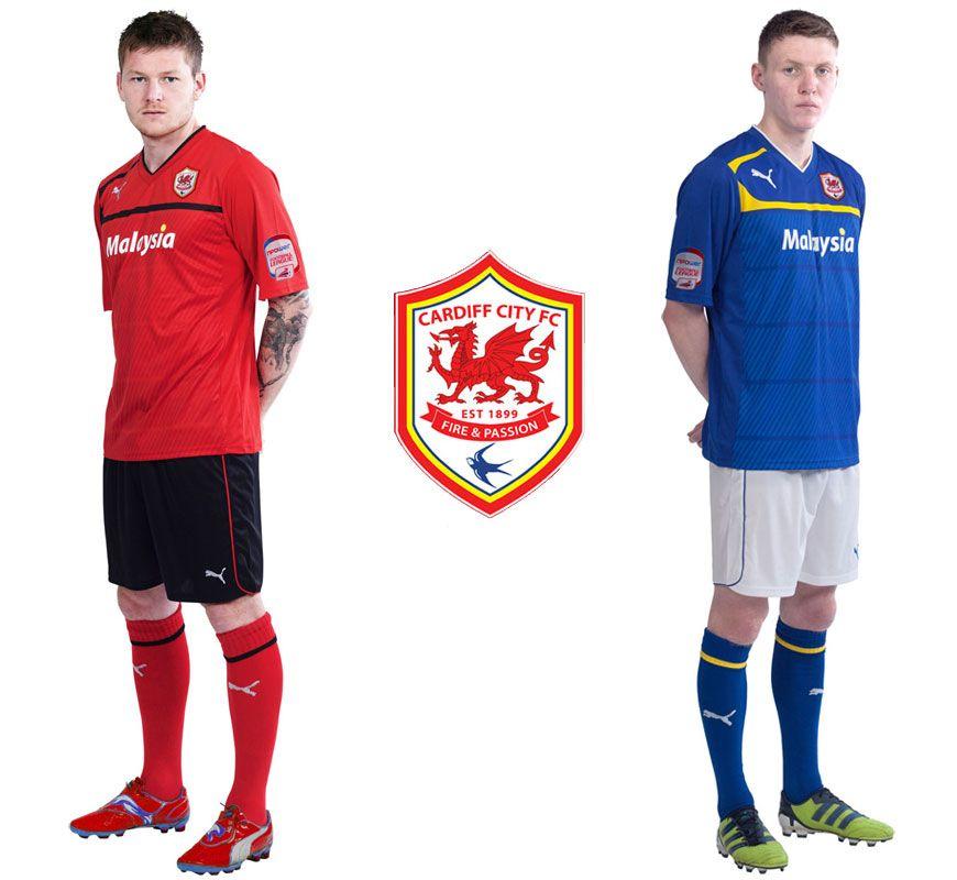 Le maglie Puma del Cardiff City 2012-2013