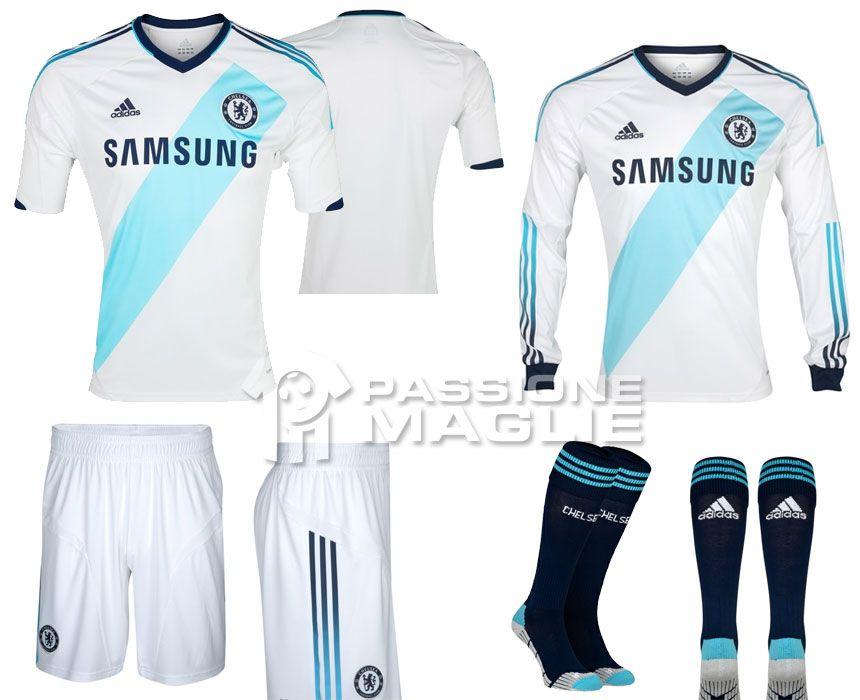 Chelsea seconda maglia 2012-2013 adidas