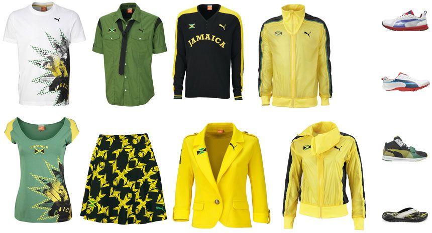 Prodotti collezione Giamaica Olimpiadi 2012