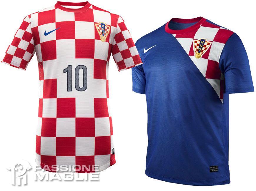 Croazia maglie europei 2012