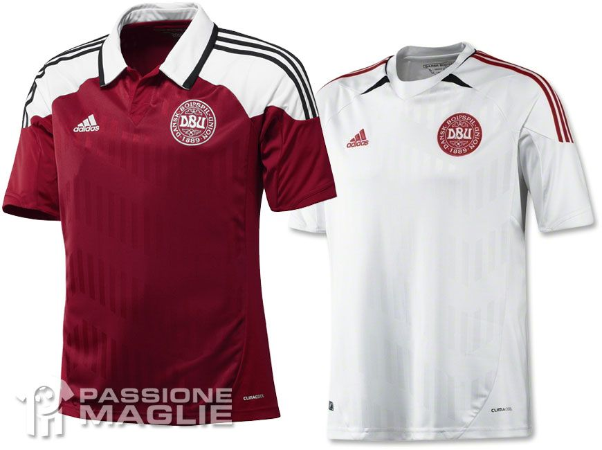 Danimarca maglie Europei 2012