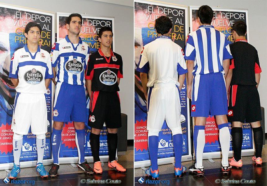 Deportivo La Coruna le maglie 2012-2013