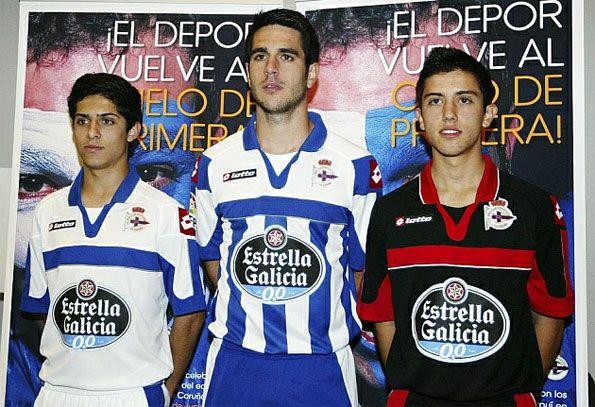 Divise Deportivo La Coruna 2012-2013