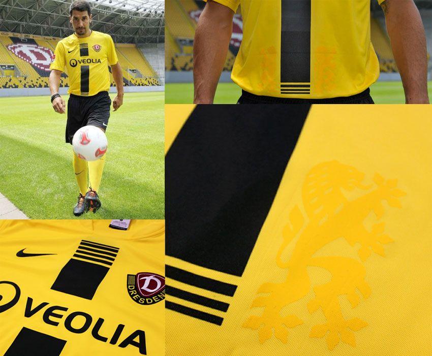 Dynamo Dresda divisa casa 2012-2013 Nike