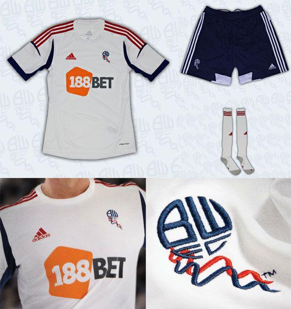 Bolton Wanderers maglia home 2012-2013