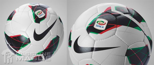 Particolari pallone calcio Serie A 2012-2013
