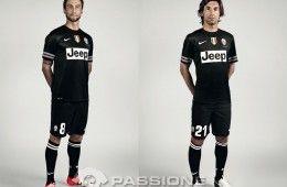 Juventus divisa trasferta 2012-2013 Nike