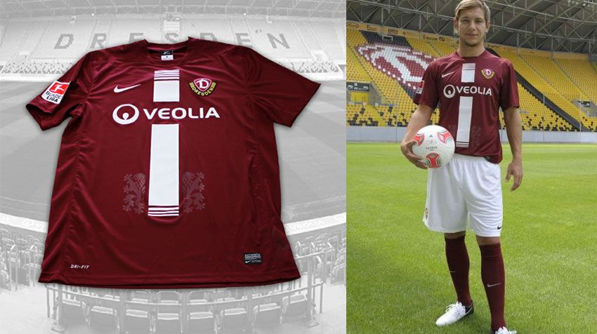 Casacca away Dresda 2012-2013 Nike