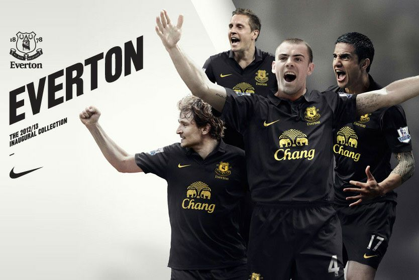 Divisa away Everton 2012-2013 Nike