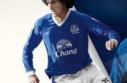 Kit home Everton 2012-2013 Nike