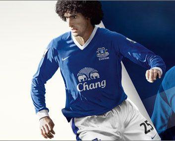 Kit home Everton 2012-2013 Nike