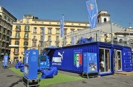 Negozio FIGC-Puma a Napoli