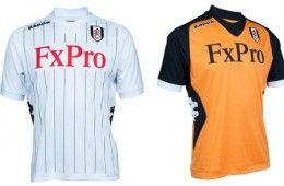 Kit Fulham 2012-2013 Kappa