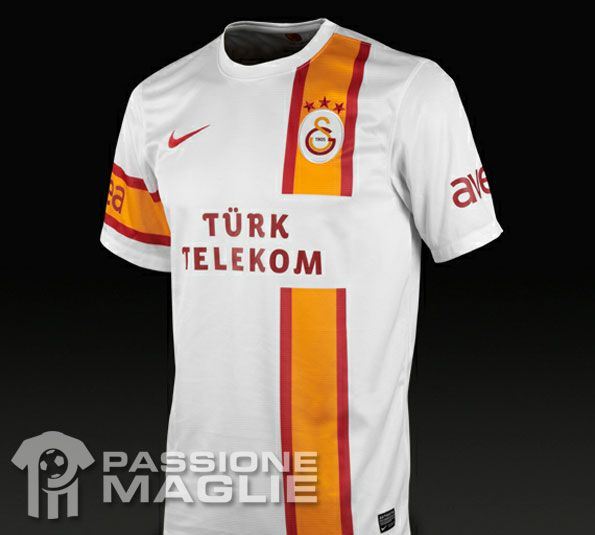Galatasaray seconda maglia 2012-2013 Nike