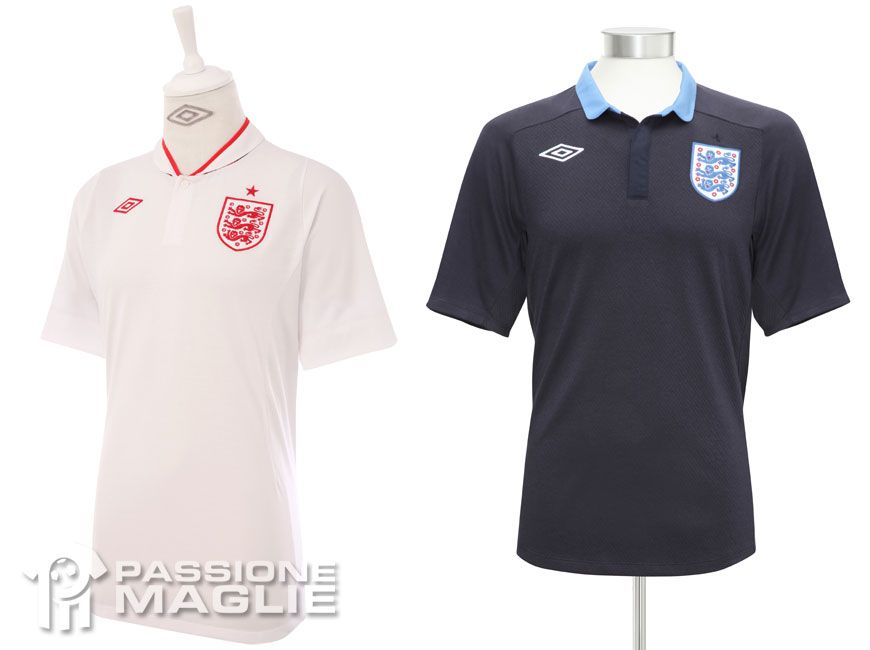 Inghilterra maglie europei 2012
