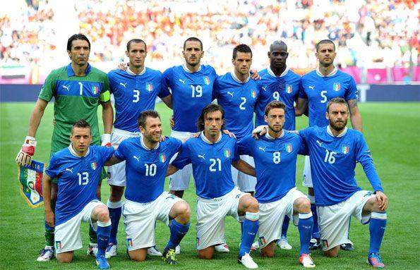 Italia-Spagna formazione iniziale