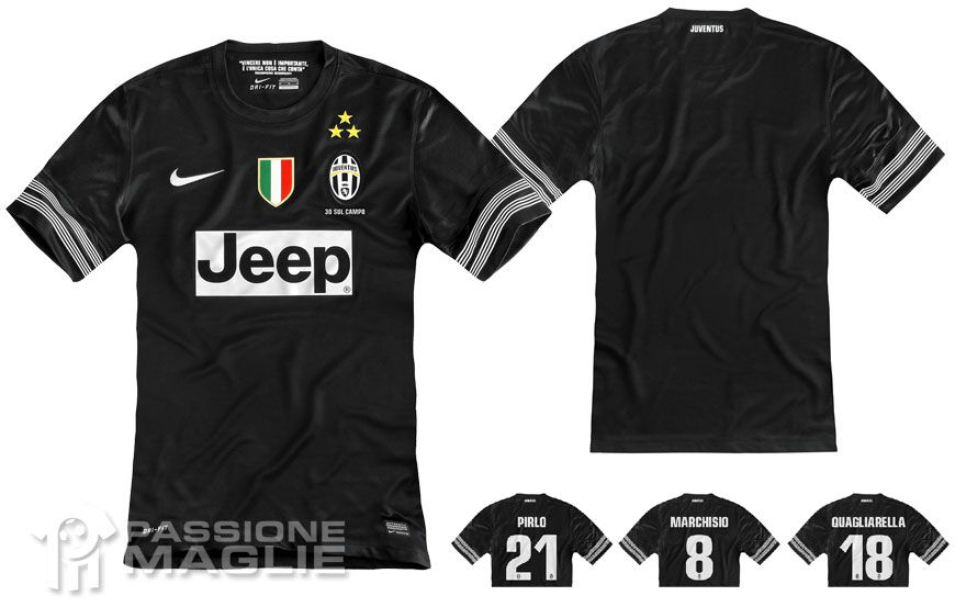 Juventus maglia trasferta replica 2012-2013 Nike