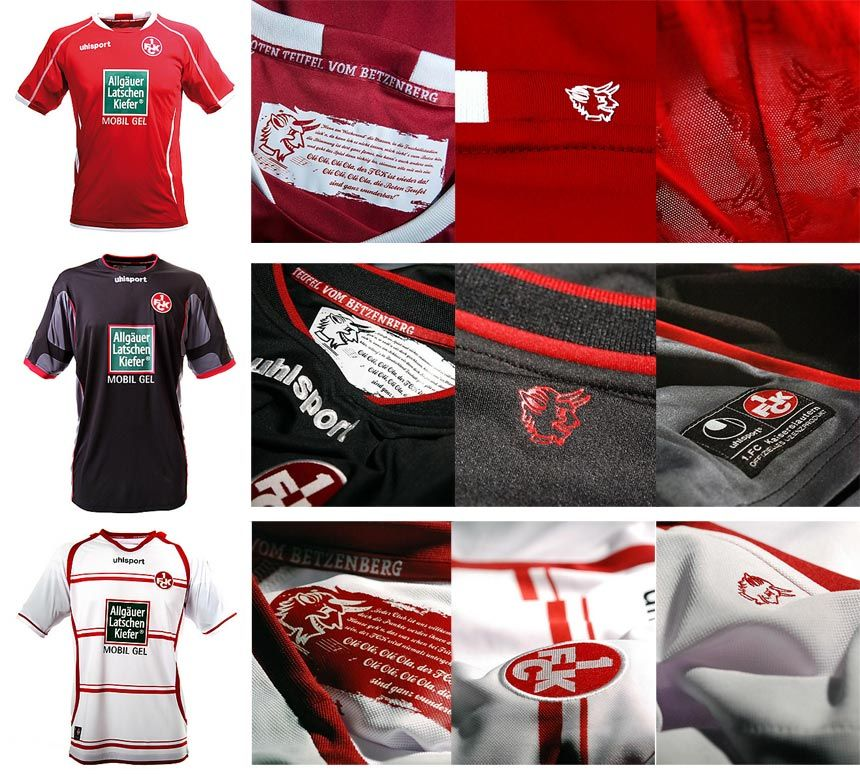 Kaiserslautern divise Uhlsport 2012-2013