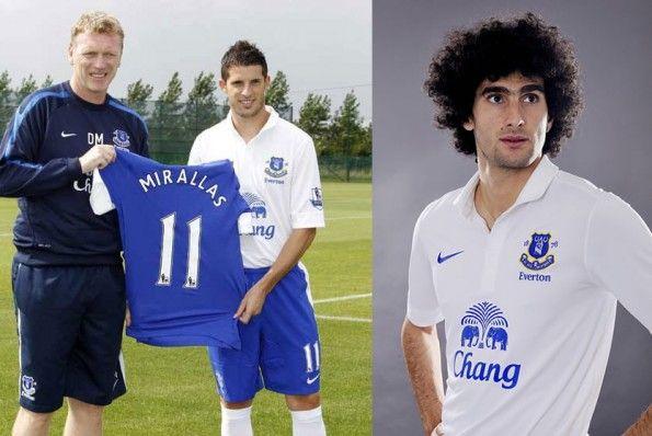 Presentazione terza maglia 2012-2013 Everton