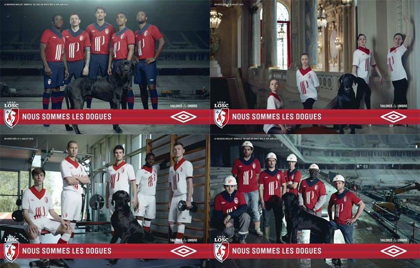 Kit Lille LOSC Umbro 2012-2013
