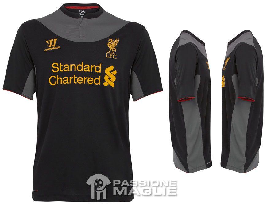 Liverpool maglia trasferta 2012-2013 Warrior