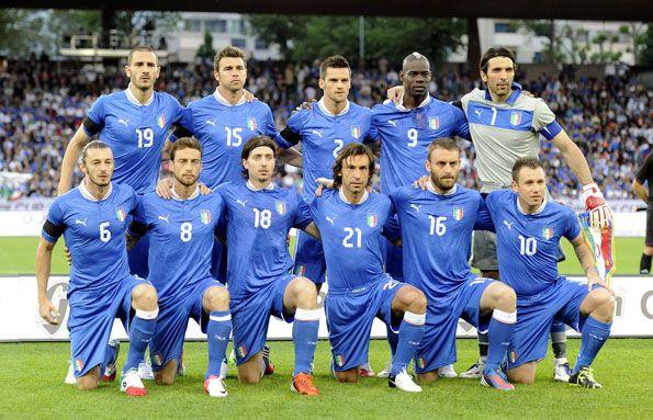 Formazione Italia-Russia 2012