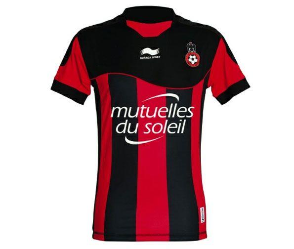 Nizza maglia casa 2012-2013 Burrda