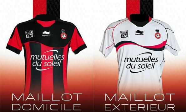 Le maglie del Nizza 2012-2013