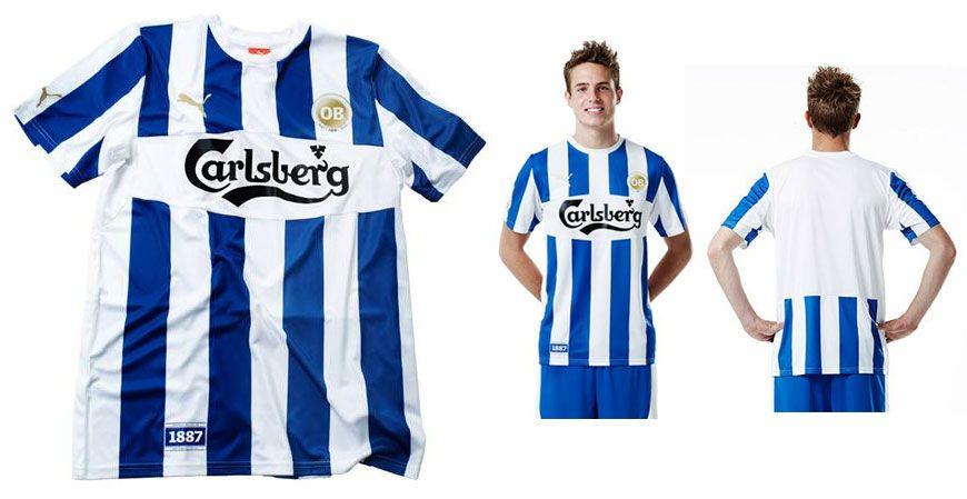 Odense maglia home 2012 per i 125 anni