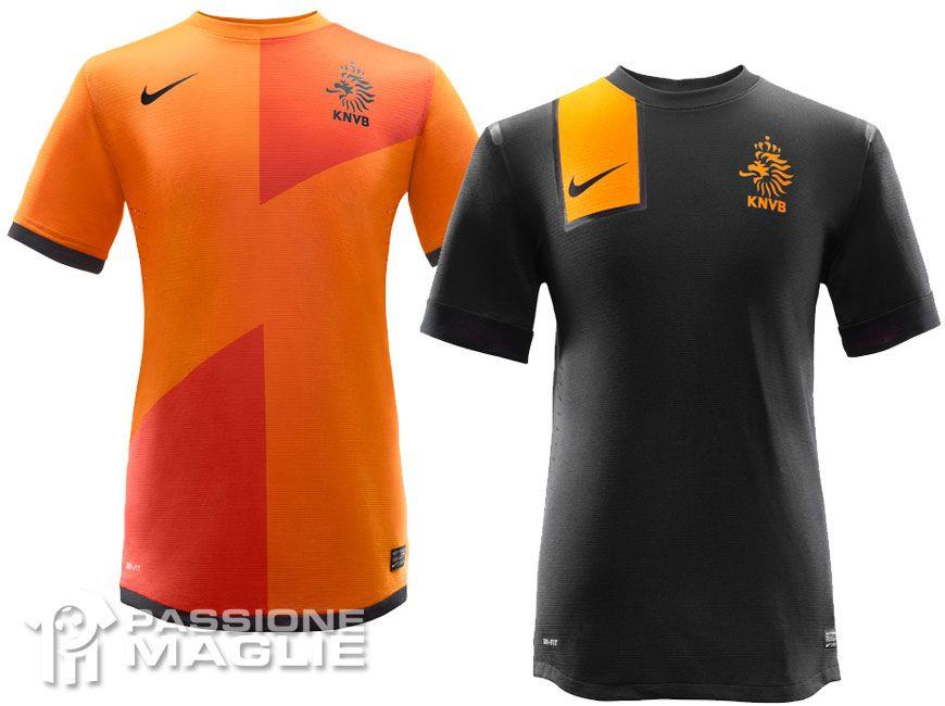 Olanda maglie Europei 2012 Nike