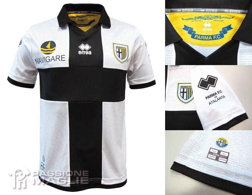 Parma prima maglia crociata 2012-2013 Errea