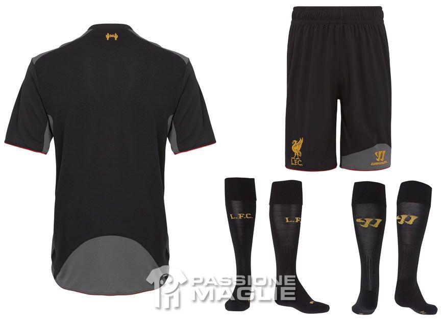 Liverpool trasferta calzoncini e calzettoni Warrior