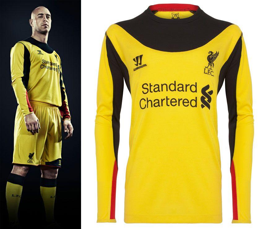 Liverpool seconda maglia portiere 2012-2013