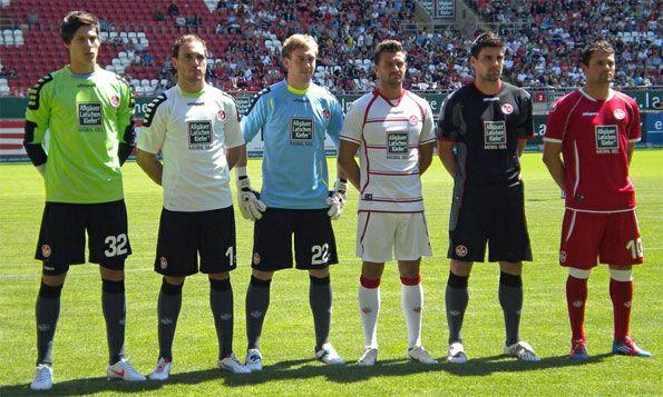 Divise Kaiserslautern 2012-2013 Uhlsport