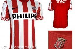 PSV Eindhoven prima maglia Nike 2012-2013