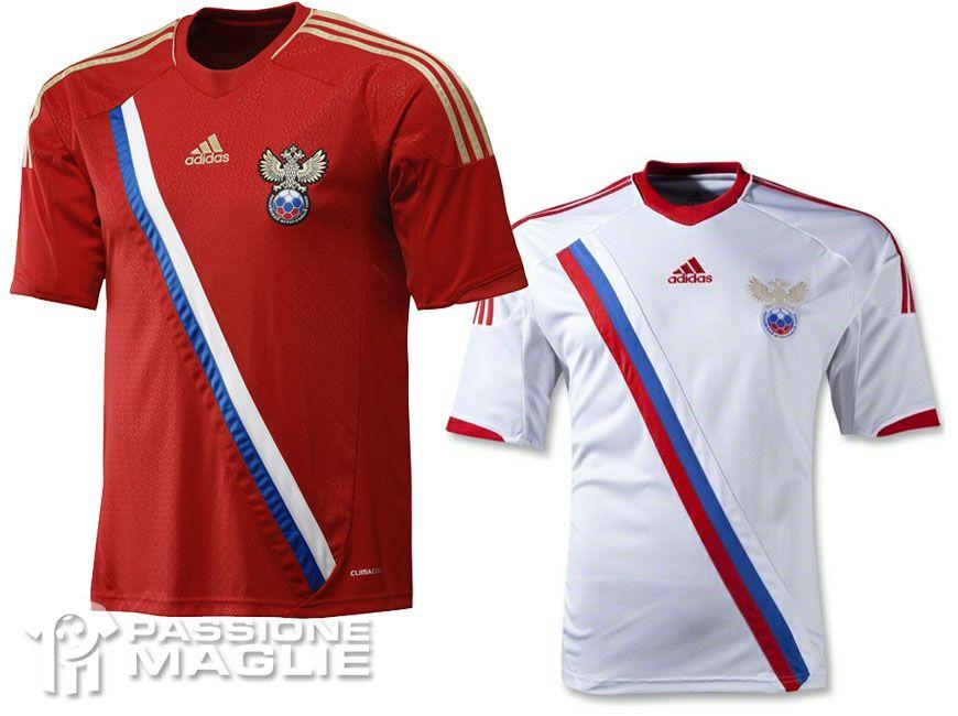 Russia maglie adidas europei 2012