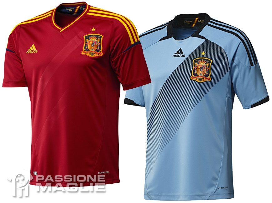 Divise Spagna europei 2012