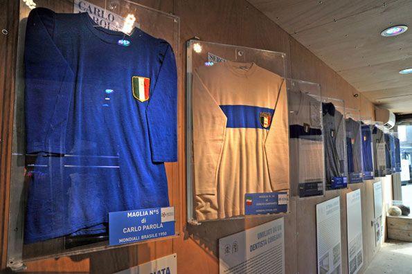 Angolo museo Figc a Napoli