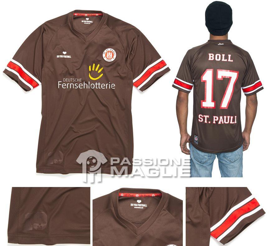 Maglia casalinga St. Pauli 2012-2013